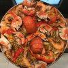 Paella lobster