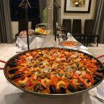 Paella shrimp
