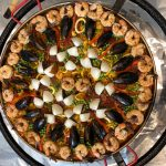 Paella clams